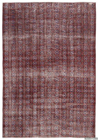 """Turkish Vintage Area Rug - 6' x 8'9"""" (72 in. x 105 in.)"""