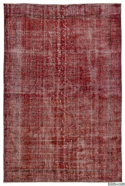 "Over-dyed Turkish Vintage Rug - 6' 11"" x 10' 6"" (83 in. x 126 in.)"