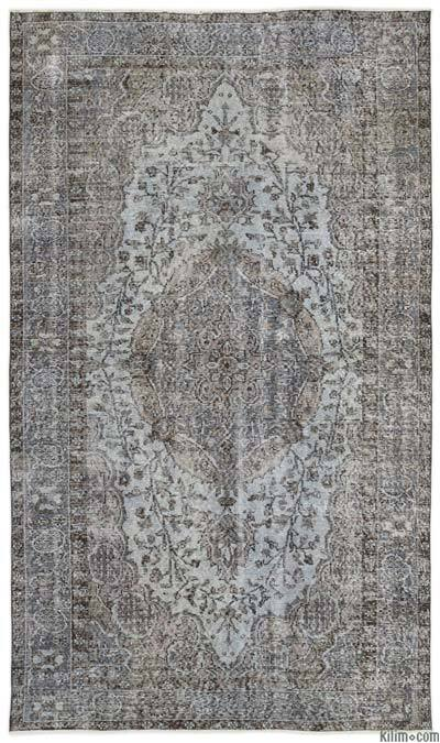 "Turkish Vintage Area Rug - 5'3"" x 9'1"" (63 in. x 109 in.)"