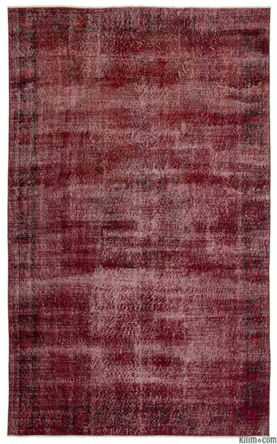 "Over-dyed Turkish Vintage Rug - 6' 7"" x 10' 4"" (79 in. x 124 in.)"