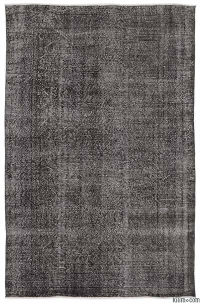 Boyalı El Dokuma Vintage Halı - 181 cm x 275 cm
