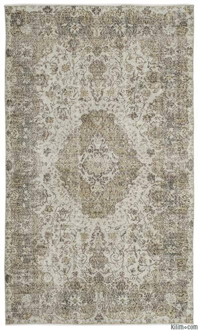 "Turkish Vintage Area Rug - 6' 6"" x 10' 11"" (78 in. x 131 in.)"