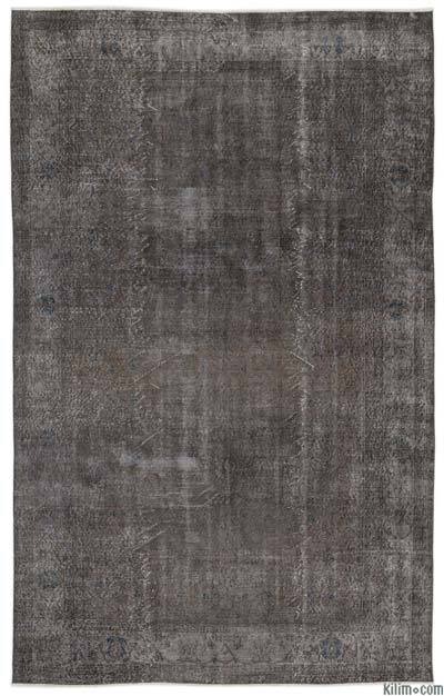 """Over-dyed Turkish Vintage Rug - 6' 5"""" x 10' 3"""" (77 in. x 123 in.)"""
