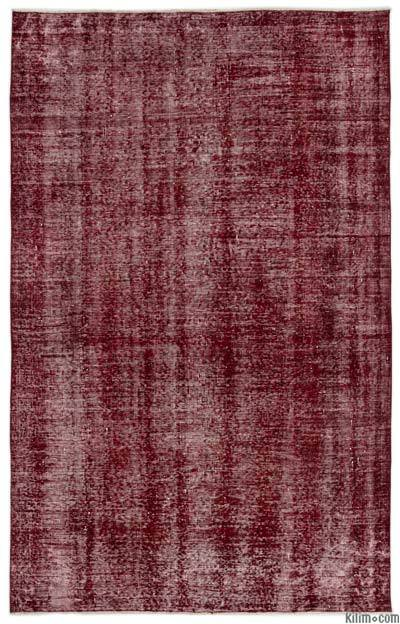 "Over-dyed Turkish Vintage Rug - 5' 4"" x 8' 7"" (64 in. x 103 in.)"