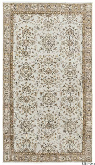 "Over-dyed Turkish Vintage Rug - 3' 8"" x 6' 8"" (44 in. x 80 in.)"