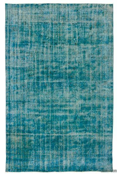 "Over-dyed Turkish Vintage Rug - 6'9"" x 10'9"" (81 in. x 129 in.)"