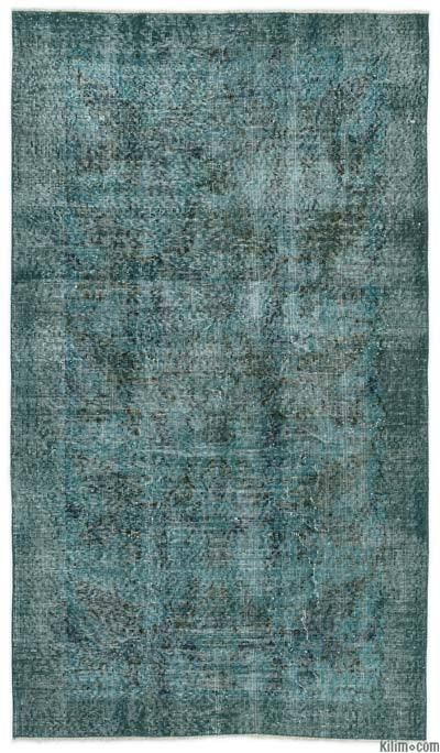 "Over-dyed Turkish Vintage Rug - 3' 8"" x 6' 5"" (44 in. x 77 in.)"