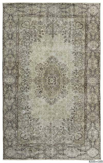 """Turkish Vintage Area Rug - 5'3"""" x 8'4"""" (63 in. x 100 in.)"""