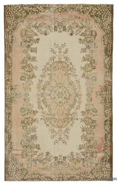 "Turkish Vintage Area Rug - 6'2"" x 9'10"" (74 in. x 118 in.)"