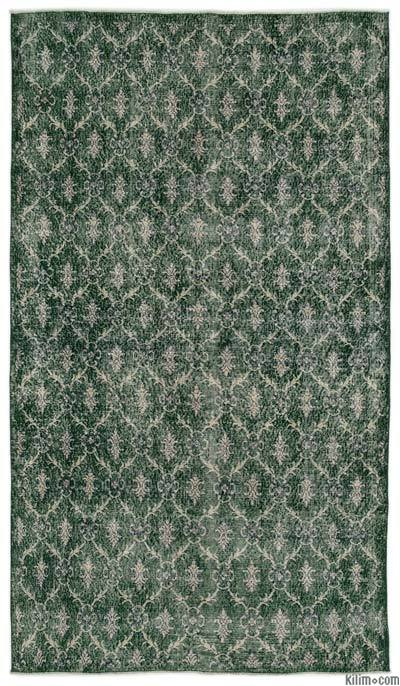 """Turkish Vintage Area Rug - 5'2"""" x 9'1"""" (62 in. x 109 in.)"""