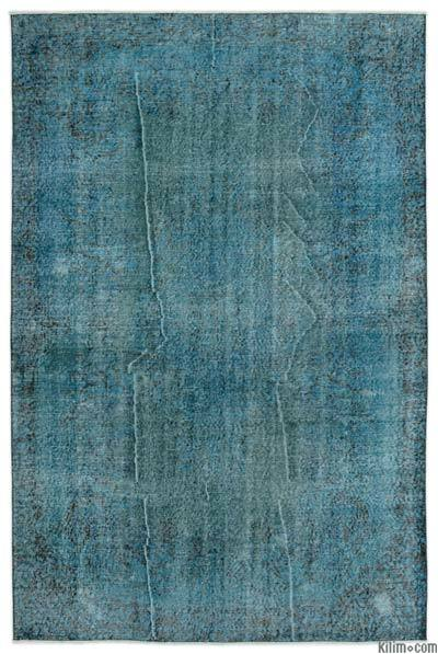 "Over-dyed Turkish Vintage Rug - 5'7"" x 8'7"" (67 in. x 103 in.)"