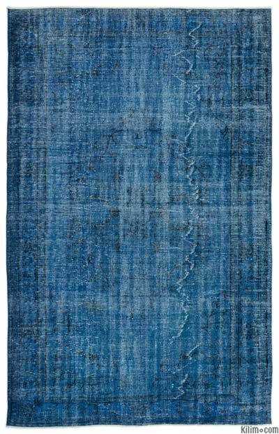 "Over-dyed Turkish Vintage Rug - 6'3"" x 9'9"" (75 in. x 117 in.)"