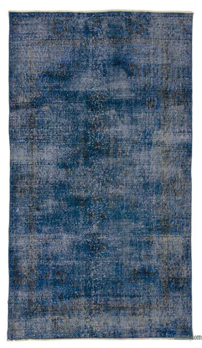 "Over-dyed Turkish Vintage Rug - 3' 9"" x 6' 7"" (45 in. x 79 in.)"