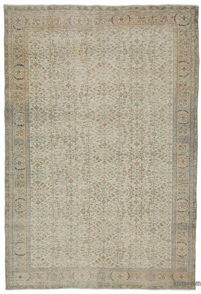 """Turkish Vintage Area Rug - 6'7"""" x 9'11"""" (79 in. x 119 in.)"""