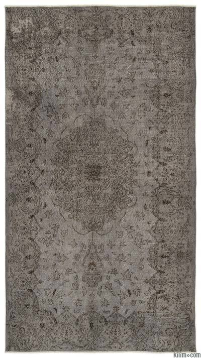 "Over-dyed Turkish Vintage Rug - 5'5"" x 9'11"" (65 in. x 119 in.)"