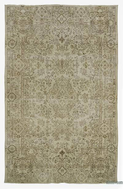 "Turkish Vintage Area Rug - 6'11"" x 10'9"" (83 in. x 129 in.)"