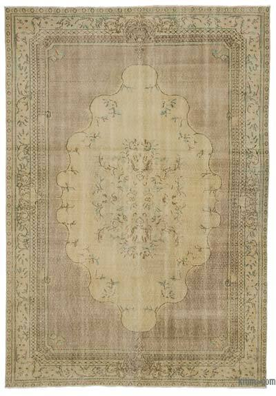 "Turkish Vintage Area Rug - 6' 9"" x 10'  (81 in. x 120 in.)"