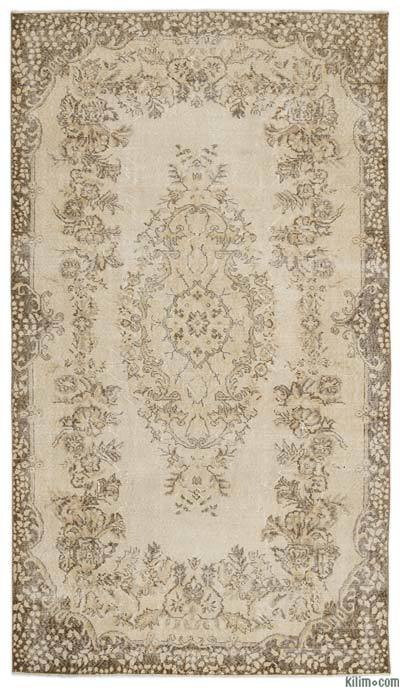 """Turkish Vintage Area Rug - 5'6"""" x 9'6"""" (66 in. x 114 in.)"""