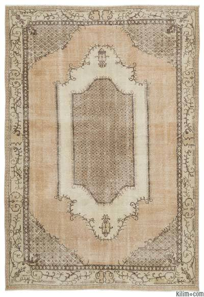 """Turkish Vintage Area Rug - 6'11"""" x 9'11"""" (83 in. x 119 in.)"""