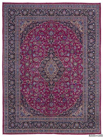 """Vintage Hand-knotted Oriental Rug - 9'10"""" x 12'11"""" (118 in. x 155 in.)"""
