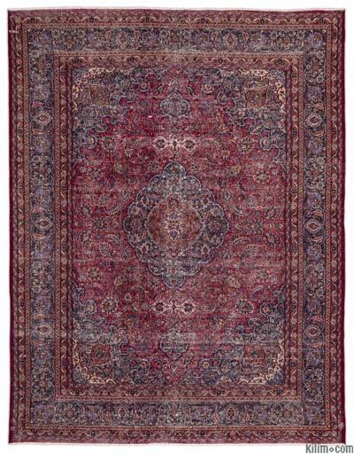 El Dokuma Vintage Halı - 298 cm x 387 cm