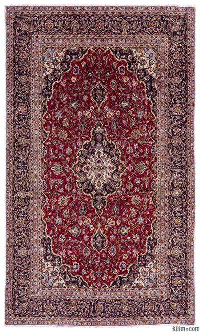"Vintage Hand-knotted Oriental Rug - 7'1"" x 12' (85 in. x 144 in.)"