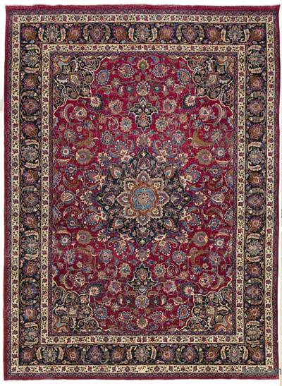 """Vintage Hand-knotted Oriental Rug - 10' 4"""" x 14'  (124 in. x 168 in.)"""