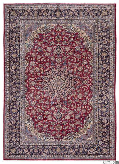"Vintage Hand-knotted Oriental Rug - 9'7"" x 13'9"" (115 in. x 165 in.)"