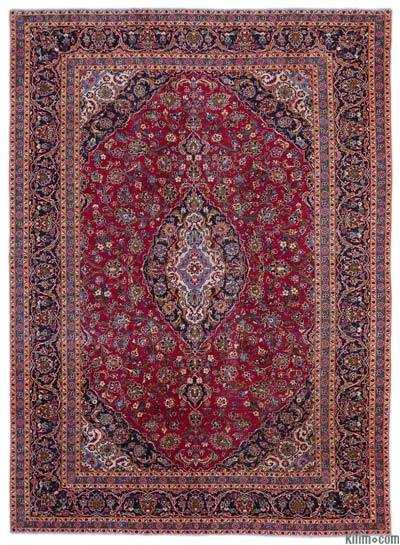 """Vintage Hand-knotted Oriental Rug - 9'6"""" x 13'1"""" (114 in. x 157 in.)"""