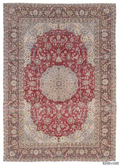 """Vintage Hand-knotted Oriental Rug - 9'5"""" x 13'8"""" (113 in. x 164 in.)"""