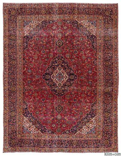 """Vintage Hand-knotted Oriental Rug - 9' 7"""" x 12' 8"""" (115 in. x 152 in.)"""