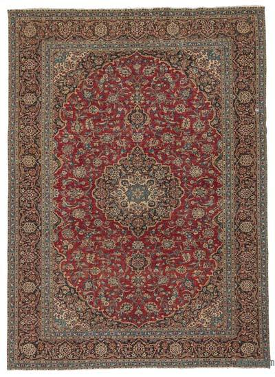 """Vintage Hand-knotted Oriental Rug - 9' 6"""" x 13' 2"""" (114 in. x 158 in.)"""