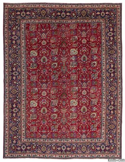 """Vintage Hand-knotted Oriental Rug - 9'8"""" x 12'10"""" (116 in. x 154 in.)"""