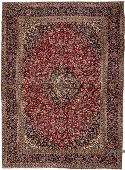 """Vintage Hand-knotted Oriental Rug - 9'6"""" x 13' (114 in. x 156 in.)"""