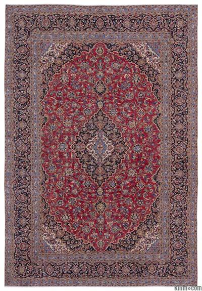 """Vintage Hand-knotted Oriental Rug - 9'4"""" x 13'3"""" (112 in. x 159 in.)"""