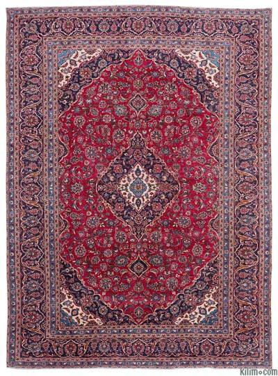 "Vintage Hand-knotted Oriental Rug - 9'4"" x 12'9"" (112 in. x 153 in.)"