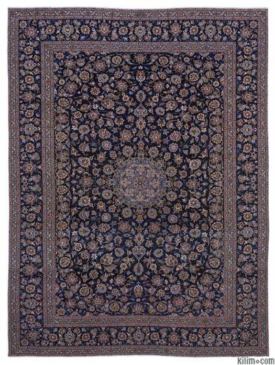 "Vintage Hand-knotted Oriental Rug - 10' x 13'1"" (120 in. x 157 in.)"