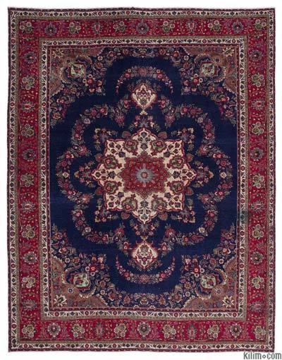 """Vintage Hand-knotted Oriental Rug - 9'8"""" x 12'8"""" (116 in. x 152 in.)"""