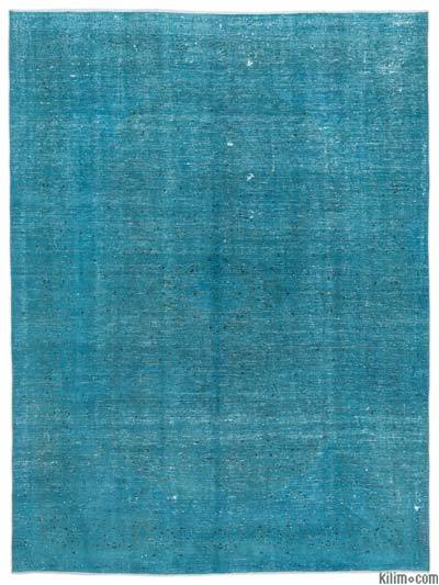 "Over-dyed Vintage Hand-knotted Oriental Rug - 9'7"" x 12'10"" (115 in. x 154 in.)"