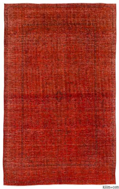 """Over-dyed Vintage Hand-knotted Oriental Rug - 8'  x 12' 8"""" (96 in. x 152 in.)"""