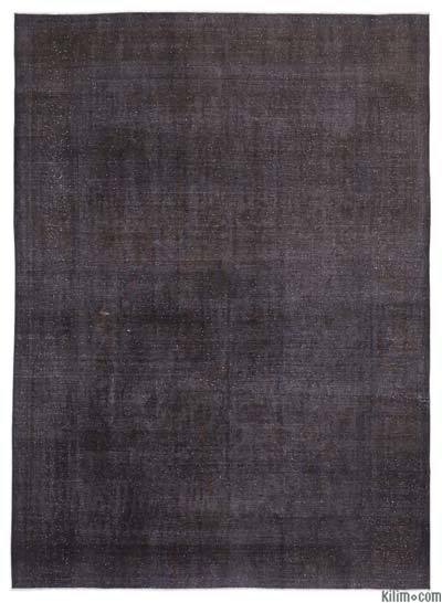 """Over-dyed Vintage Hand-knotted Oriental Rug - 9' 8"""" x 12' 10"""" (116 in. x 154 in.)"""