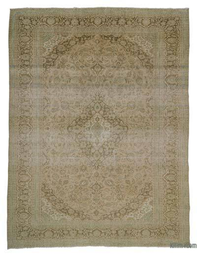 "Over-dyed Vintage Hand-knotted Oriental Rug - 9' 6"" x 12' 10"" (114 in. x 154 in.)"