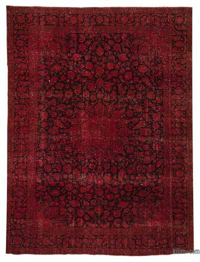 "Over-dyed Vintage Hand-knotted Oriental Rug - 10'  x 12' 10"" (120 in. x 154 in.)"