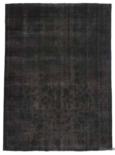 "Over-dyed Vintage Hand-knotted Oriental Rug - 9' 7"" x 13' 1"" (115 in. x 157 in.)"