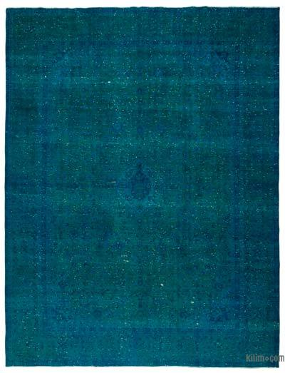 """Over-dyed Vintage Hand-Knotted Oriental Rug - 9' 9"""" x 12' 11"""" (117 in. x 155 in.)"""