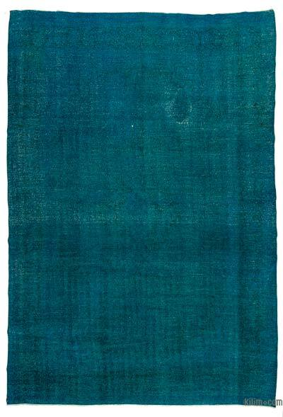"""Over-dyed Vintage Hand-knotted Oriental Rug - 9'7"""" x 13'11"""" (115 in. x 167 in.)"""