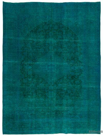 "Over-dyed Vintage Hand-knotted Oriental Rug - 9' 6"" x 13'  (114 in. x 156 in.)"