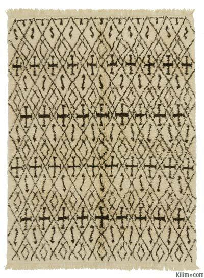 "New Turkish Tulu Rug - 6'  x 7' 9"" (72 in. x 93 in.)"