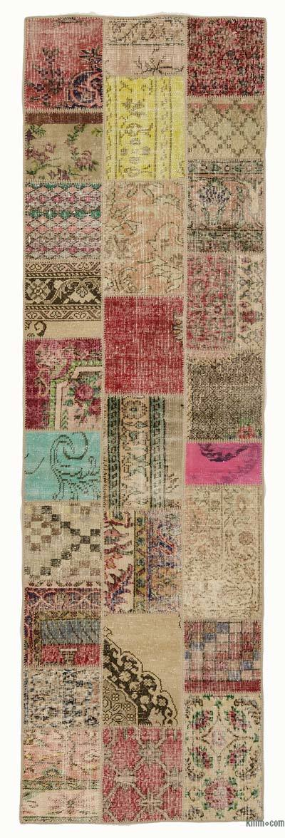 Turkish Patchwork Runner Rug