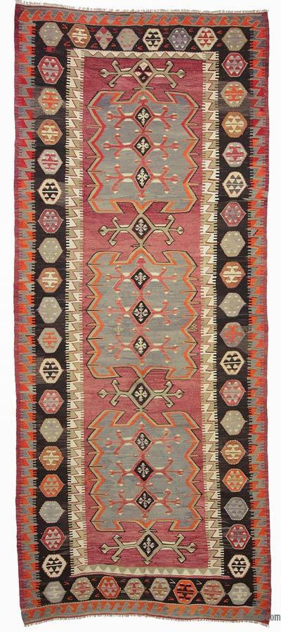 Alfombra Vintage Konya Kilim - 150 cm x 370 cm